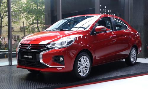 Mitsubishi Attrage 2020 thêm nhiều tính năng mới