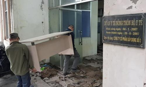 Bệnh viện bỏ hoang thành khu cách ly Covid-19