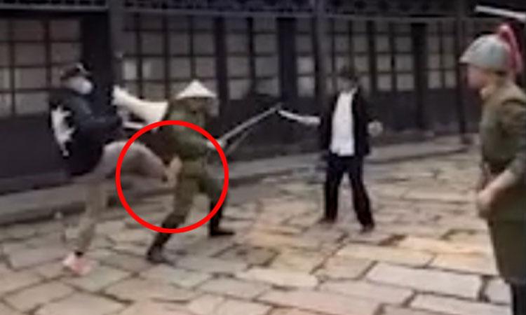 Đạo diễn tung cước diễn viên vì đánh nhau như múa