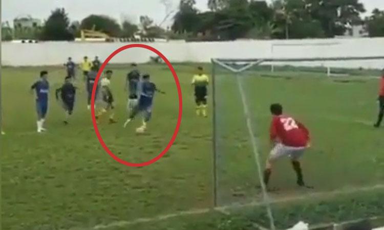 Phối hợp đá penalty 'đánh lừa cả thế giới'