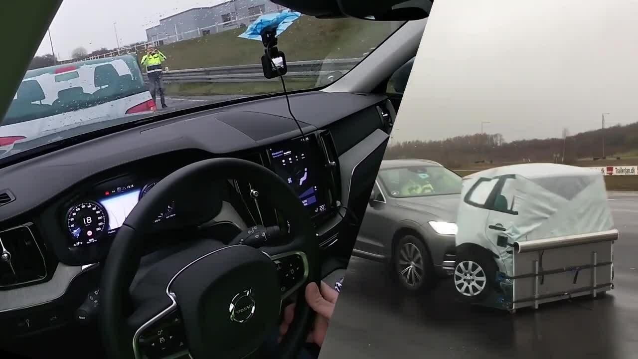 Volvo triệu hồi 736.000 xe vì lỗi phanh tự động