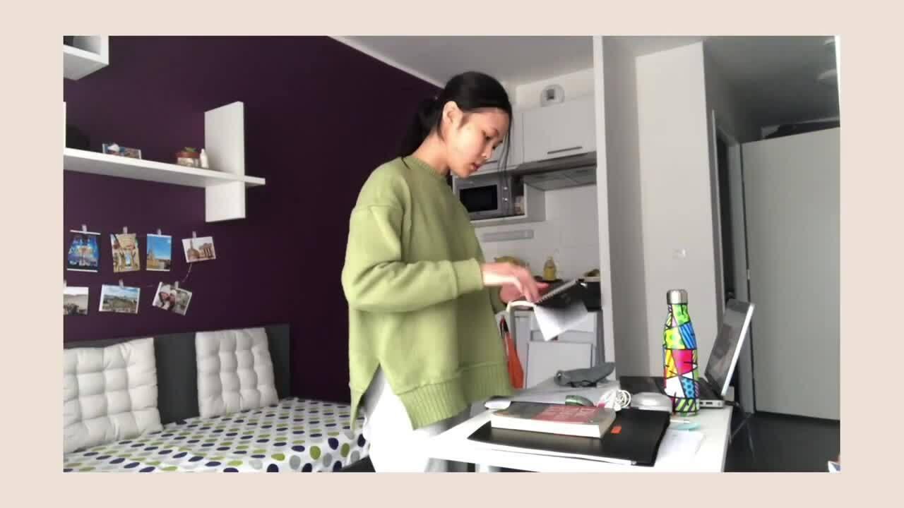 Hương chia sẻ làm việc nhà