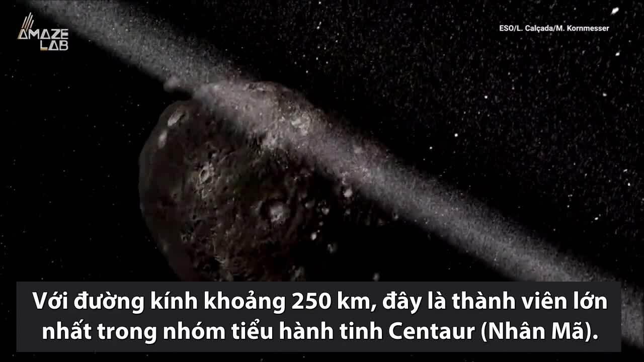 Tiểu hành tinh có vành đai rộng 7 km