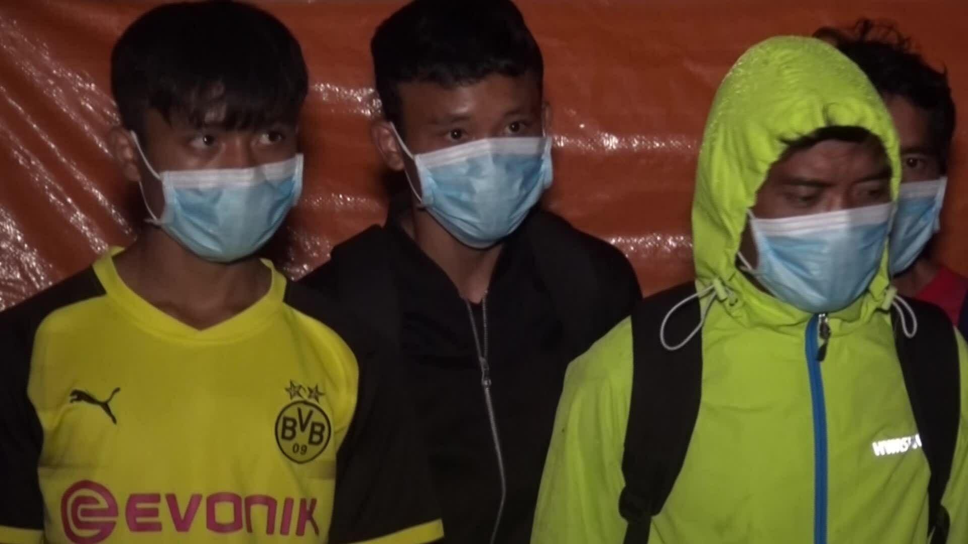 21 người nhập cảnh trái phép từ Lào về Việt Nam