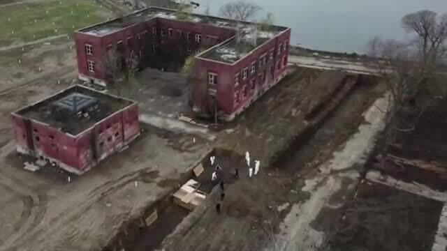 New York chôn cất tập thể bệnh nhân Covid-19
