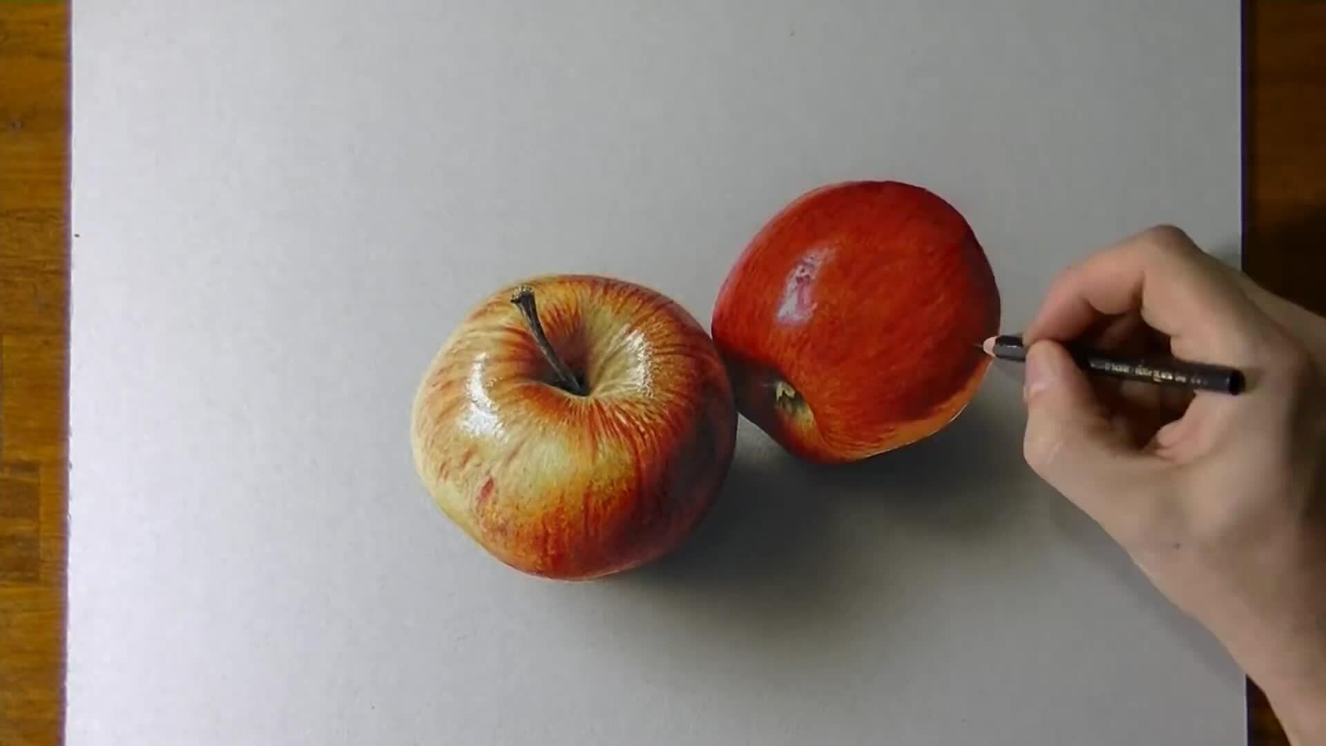 Vẽ quả táo 3D - VnExpress