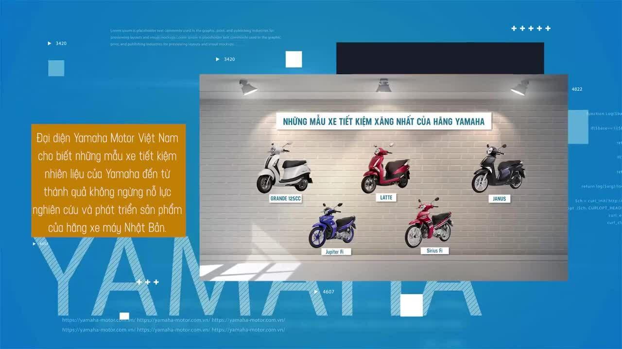 Yamaha có nhiều xe tiết kiệm xăng bậc nhất phân khúc