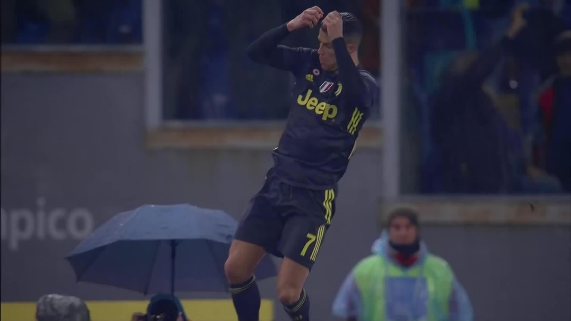 Những pha ghi bàn của Ronaldo ở Serie A mùa giải 2019