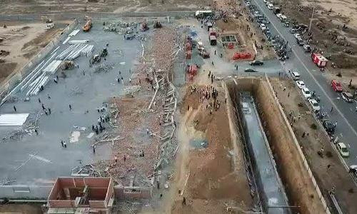 Sập công trình ở Đồng Nai, 10 người chết