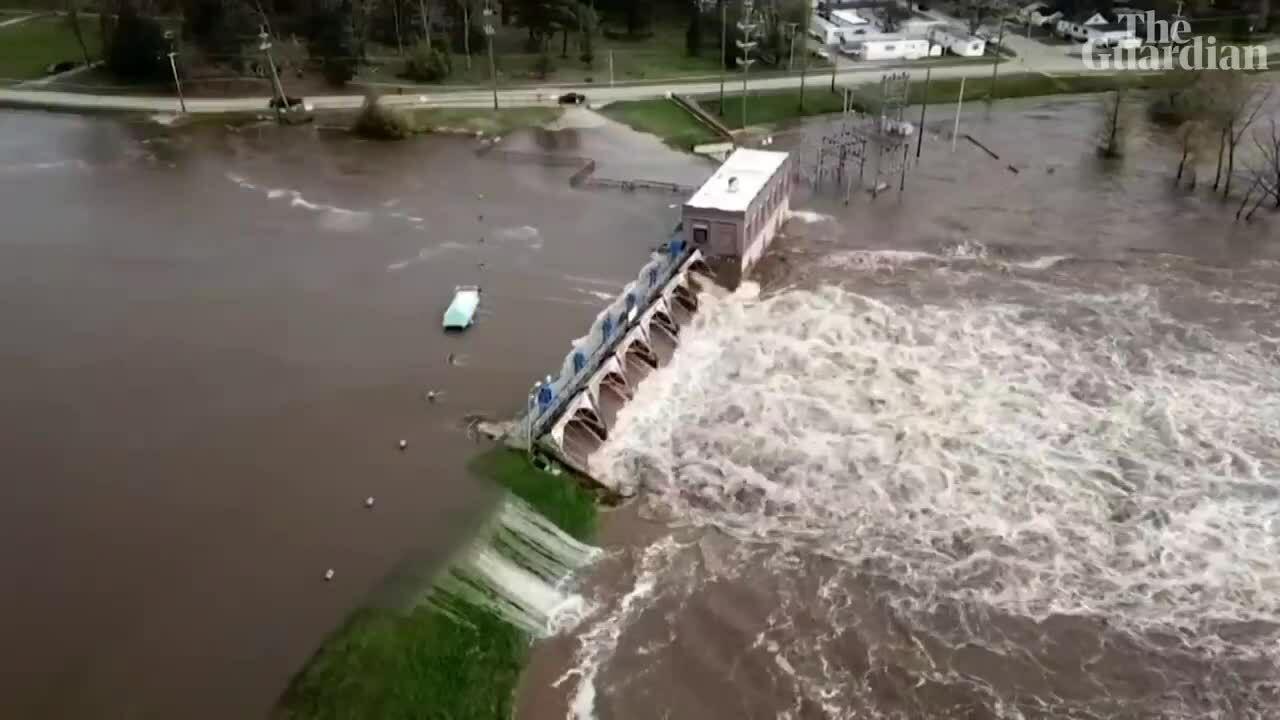 Vỡ đập ở Mỹ gây ngập lụt tồi tệ nhất 500 năm qua