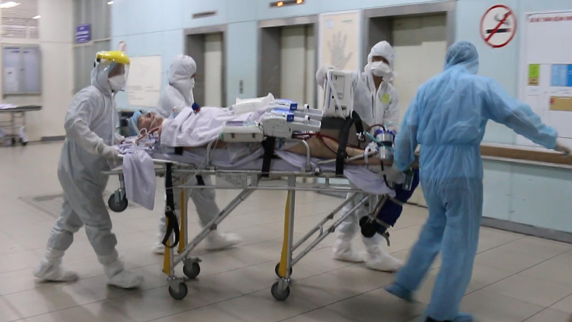 'Bệnh nhân 91' chuyển viện
