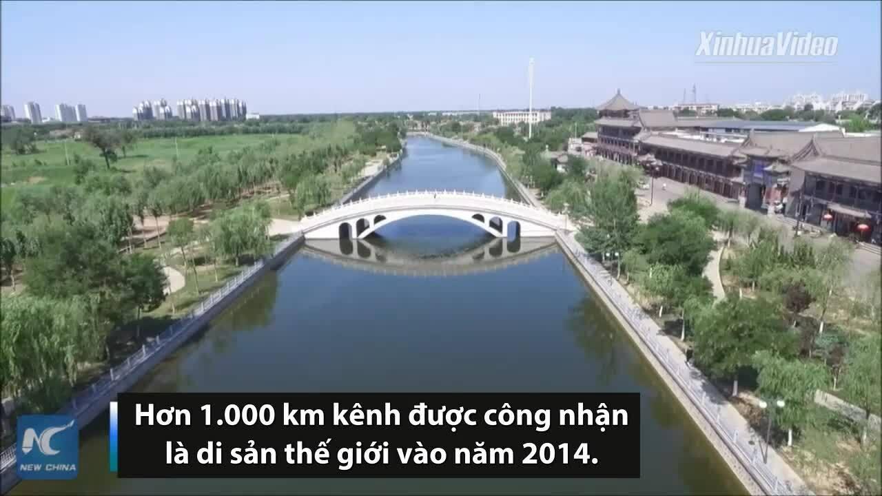 Diện mạo xanh tươicủa đoạn kênh đào cổ đại