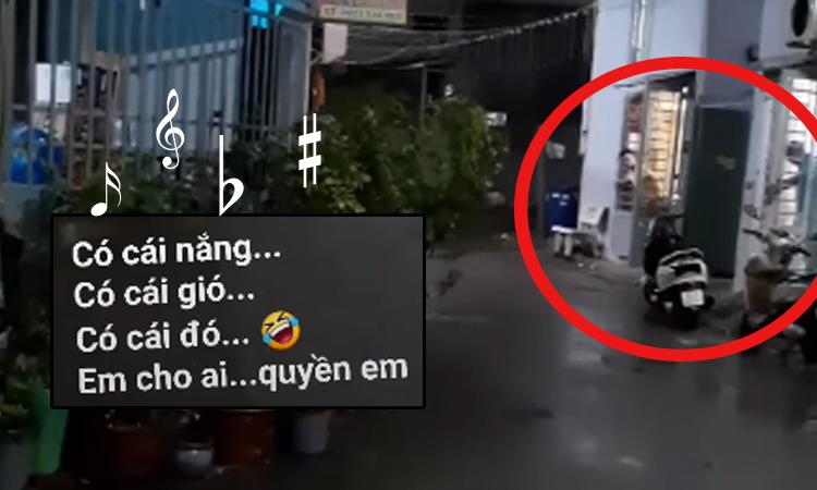 Mọi người vộiđóng cửa vì cô hàng xóm hát karaoke