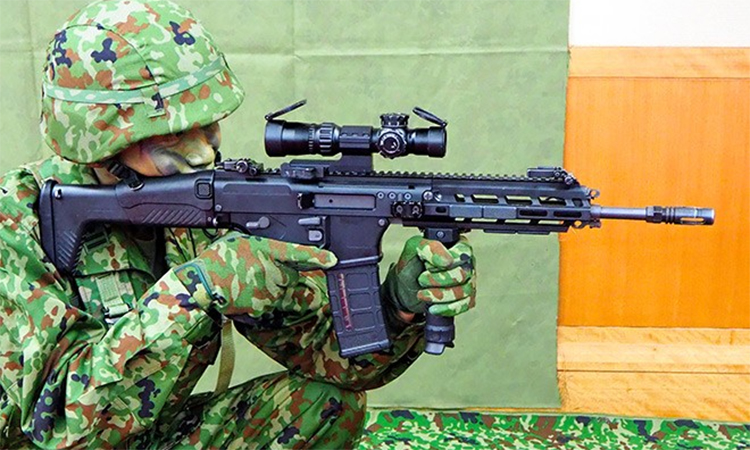Nhật Bản giới thiệu súng trường mới