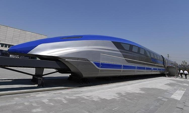 Trung Quốc thử nghiệm tàu đệm từ 600 km mỗi giờ