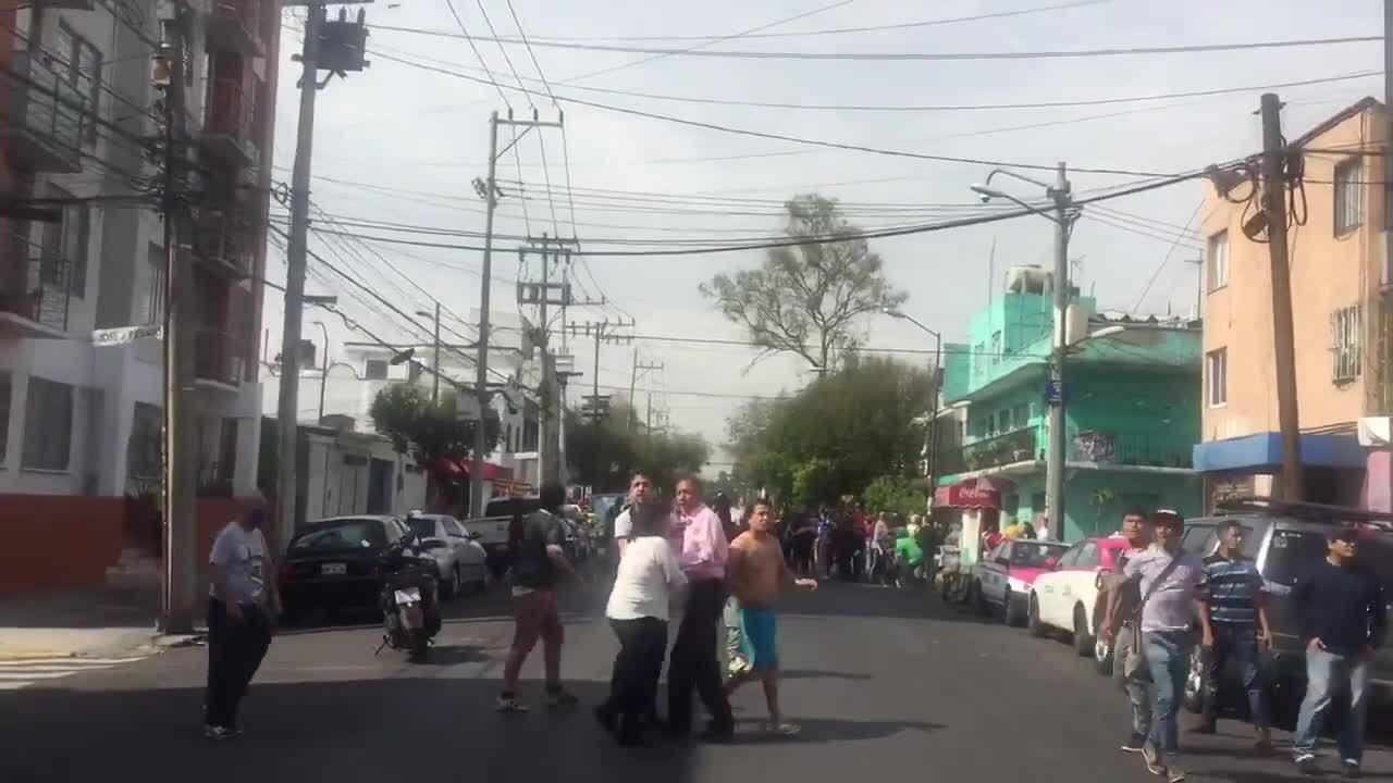 Nhân chứng: Động đất ở Mexico rung chuyển như 'nhai kẹo cao su'