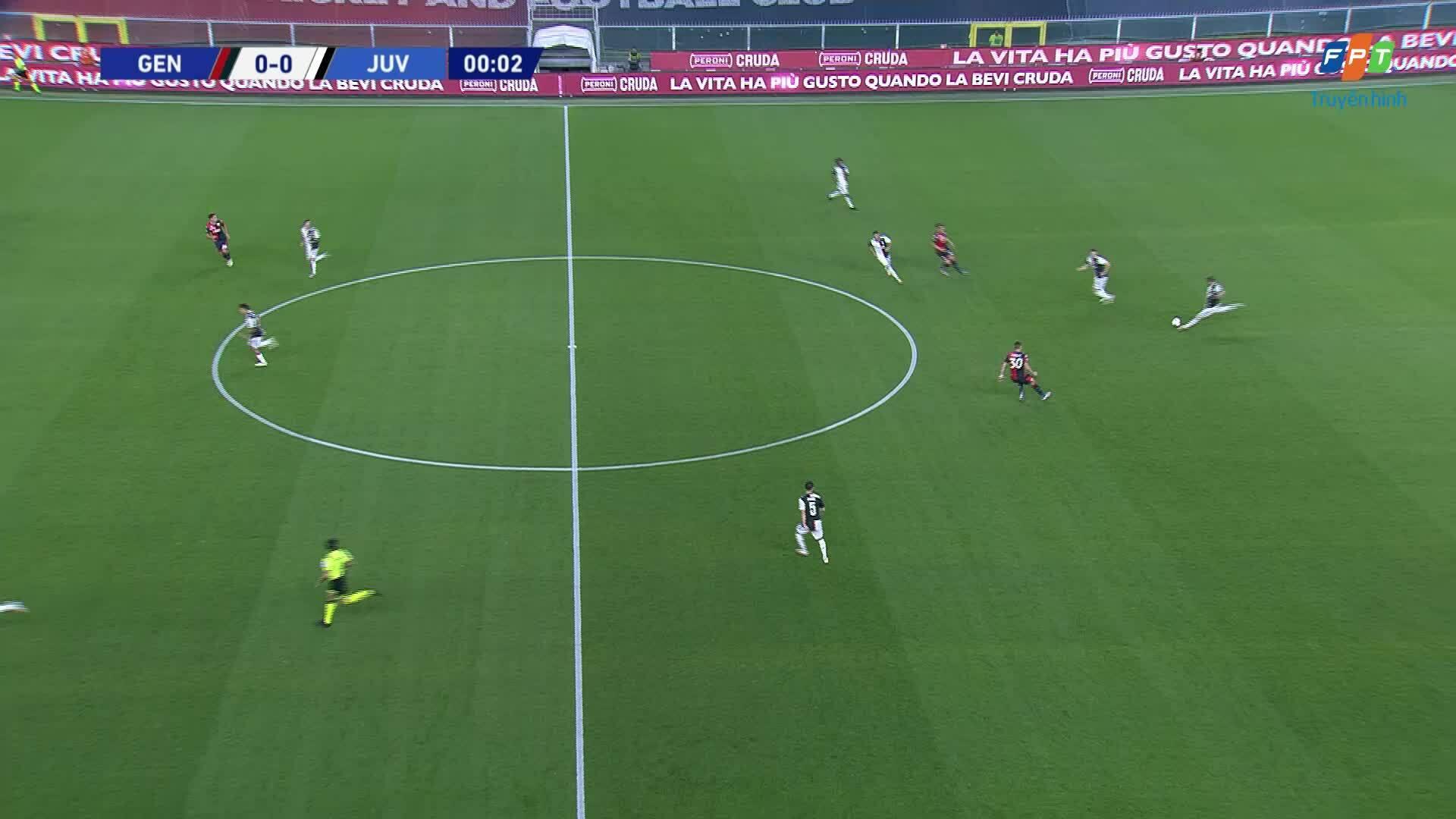 Genoa 1-3 Juventus