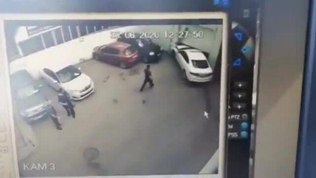 Nữ tài xế xe sang nhầm chân ga