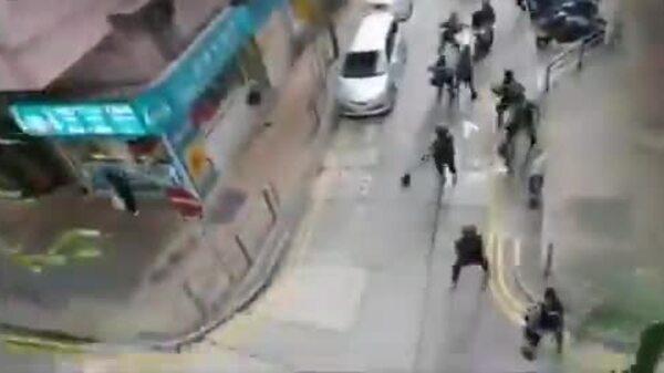 Hong Kong truy tố người đầu tiên theo luật an ninh