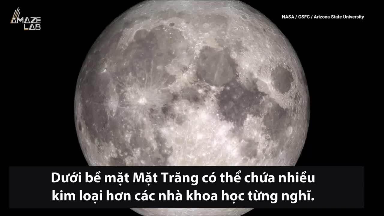 Mặt Trăng có thể ẩn chứa lượng lớn sắt và titan