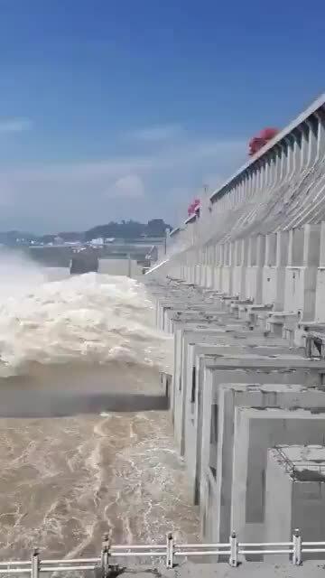 """Trung Quốc thông báo """"lũ số 1' ở thượng nguồn đập Tam Hiệp"""