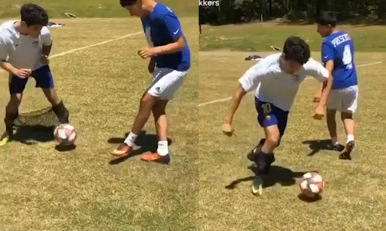 Phụ kiện tránh bị xỏ háng khi đá bóng