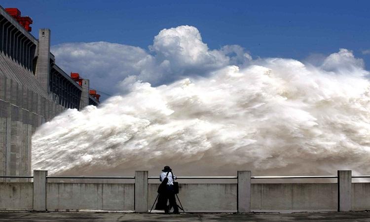 Quá trình xây dựng đập Tam Hiệp