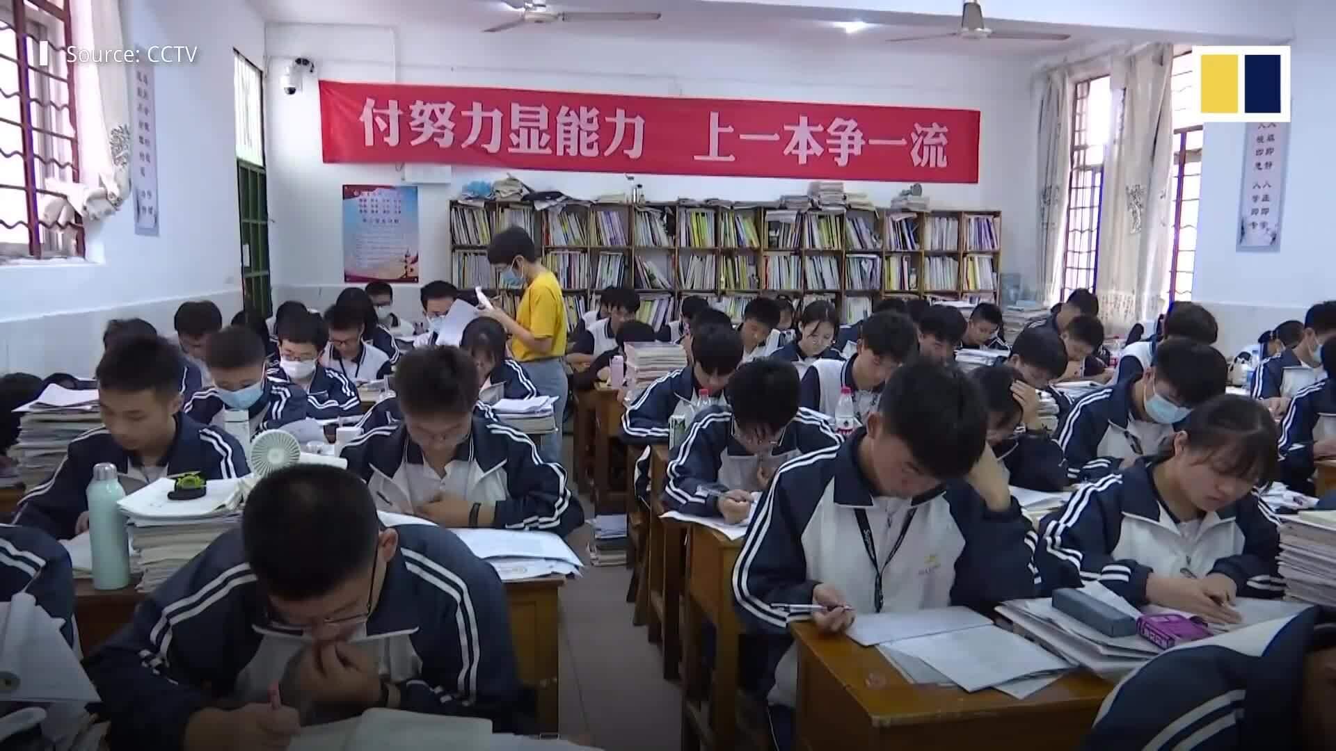 10,7 triệu học sinh Trung Quốc thi đại học
