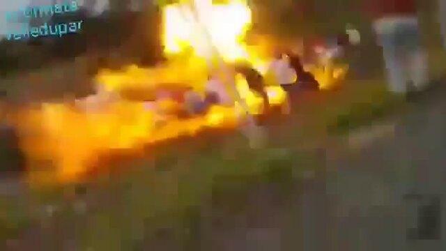 Nổ xe bồn khiến 7 người hôi xăng thiệt mạng