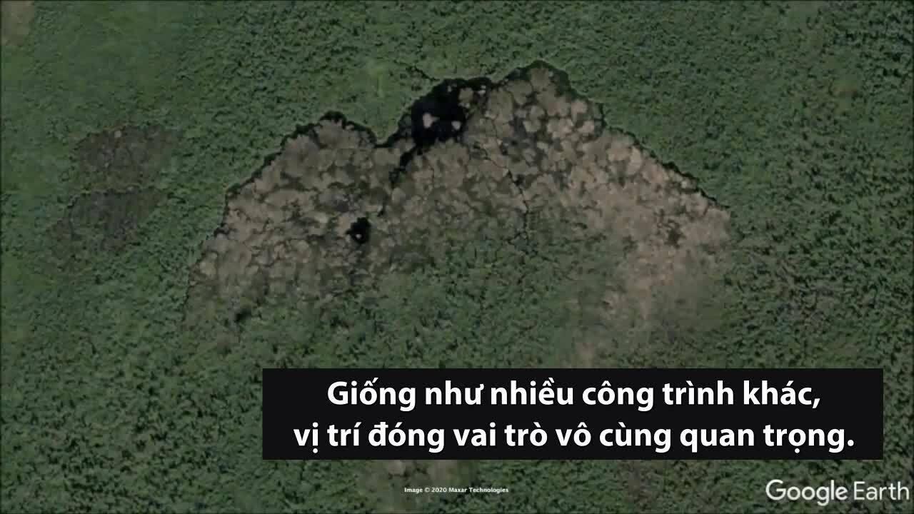 Đập hải ly lớn nhất thế giới có thể nhìn từ không gian