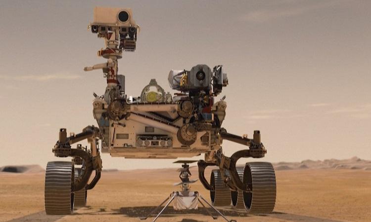 Robot NASA sắp tìm kiếm sự sống trên sao Hỏa