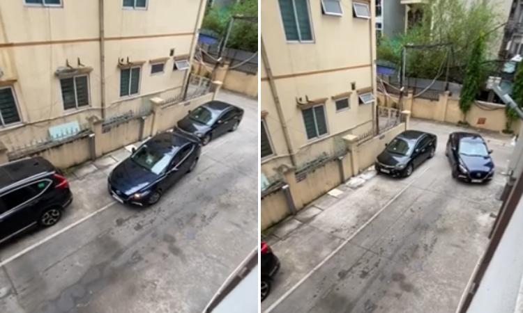 Tài xế lái xe đi vì không thể 'lùi chuồng'