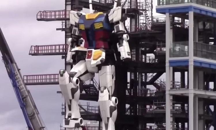 Công ty Nhật chế tạo robot hình người 24 tấn