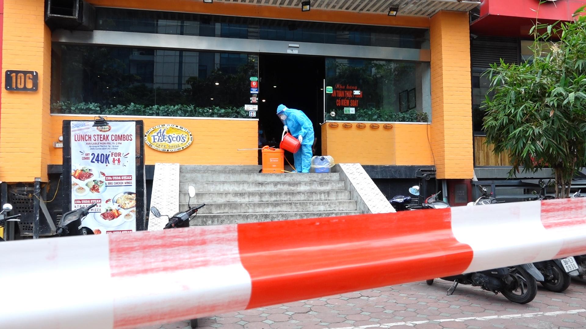 Kiểm soát nơi ở và làm việc của ca nghi nhiễm nCoV ở Hà Nội