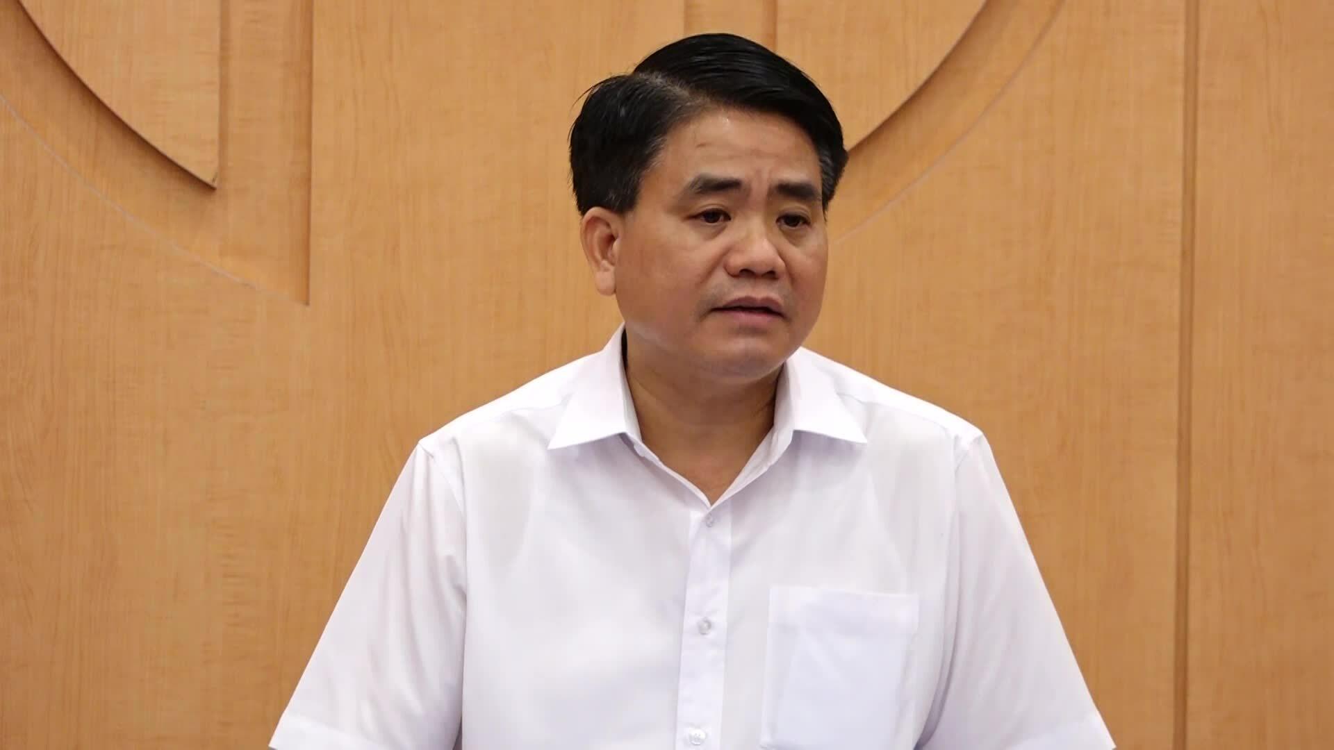 Chủ tịch Hà Nội họp chống dịch Covid-19
