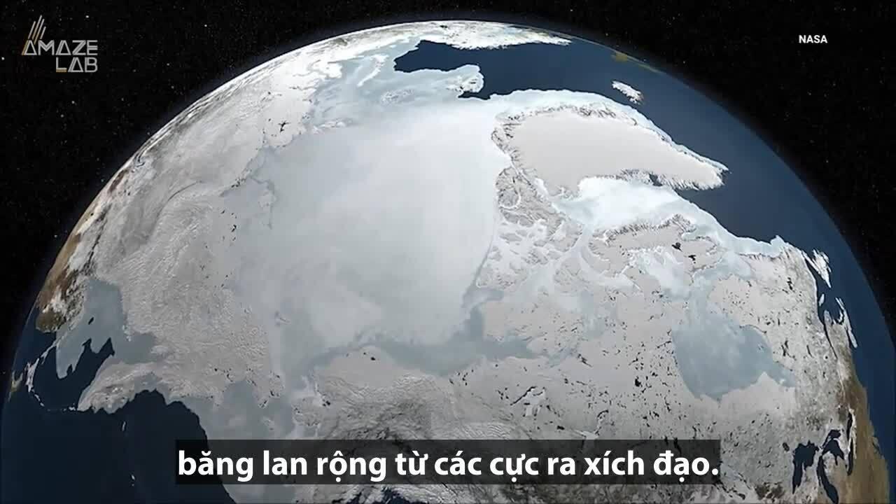 Trái Đất biến thành 'quả cầu tuyết' 700 triệu năm trước