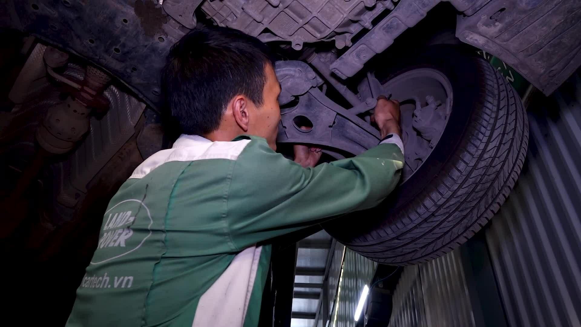 Cách kiểm tra bảo dưỡng gầm ôtô