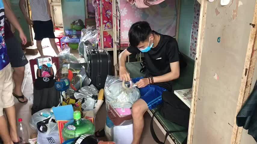 Sinh viên Đà Nẵng nhường ký túc cho người cách ly