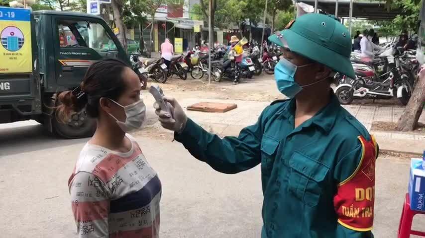 Phường ở Đà Nẵng kiểm soát người ra vào