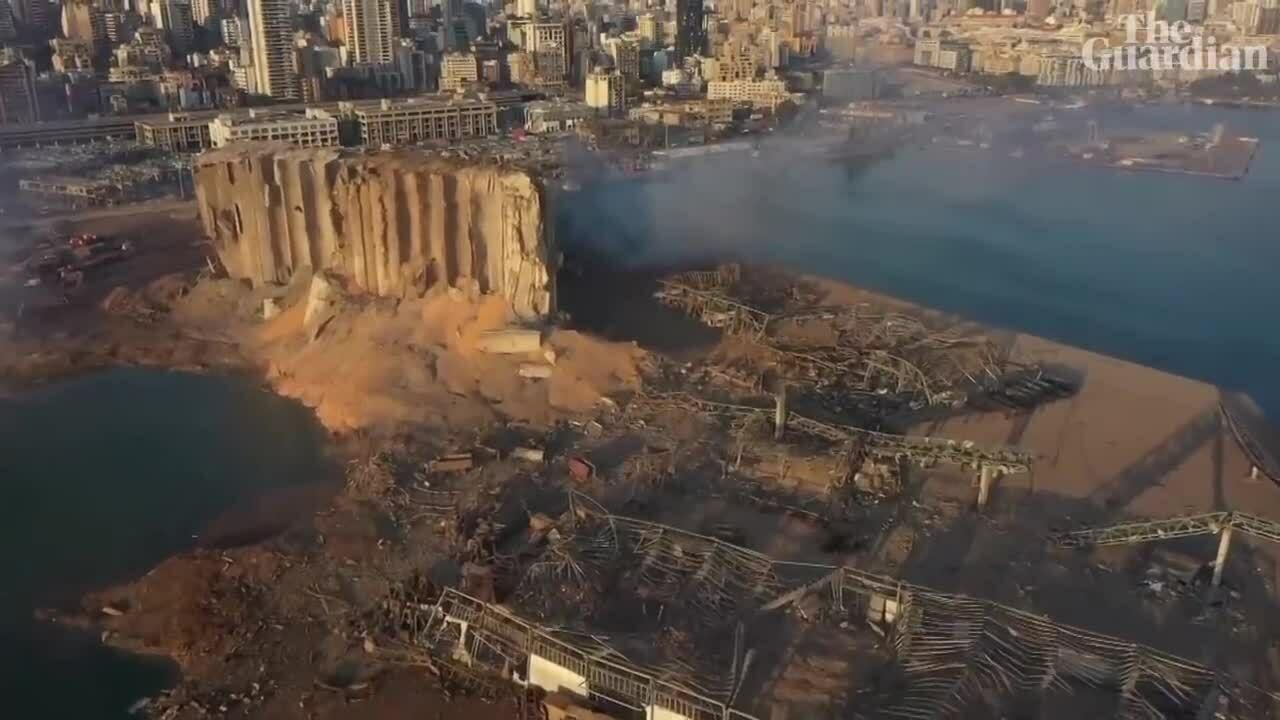 Beirut tan hoang sau vụ nổ lớn