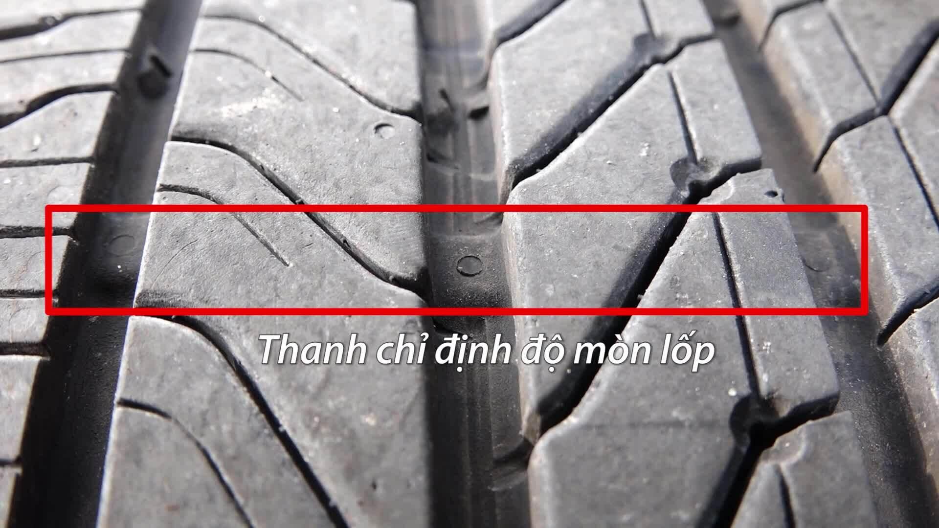 Bí mật nhận biết lốp mòn cần thay