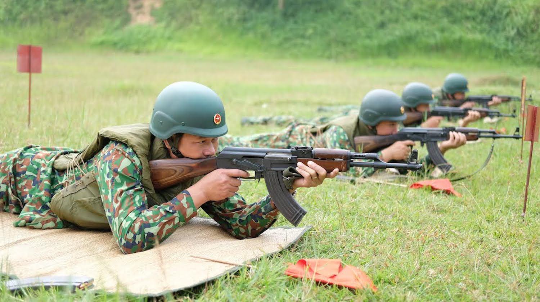 Bộ đội học bắn súng, nấu ăn chuẩn bị thi Army Games 2020