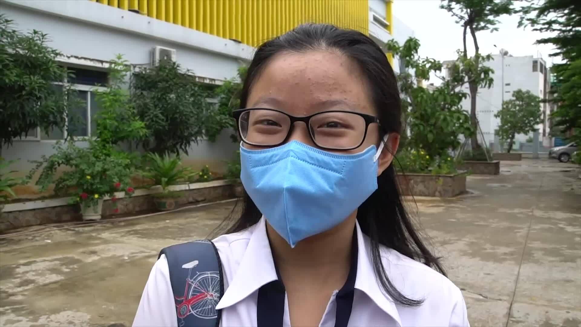 Video thí sinh đánh giá đề thi tổ hợp khoa học tự nhiên