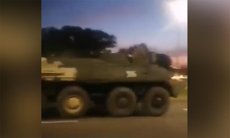 Belarus điều lính dù tăng viện biên giới
