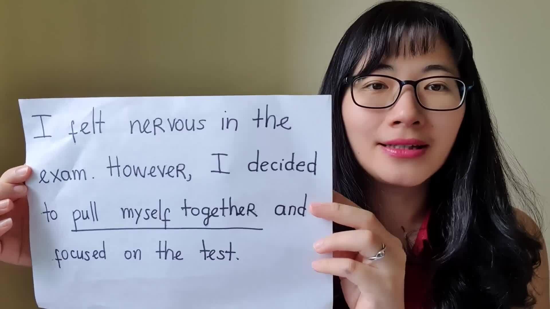 Diễn đạt 'lấy lại tinh thần' trong tiếng Anh thế nào?