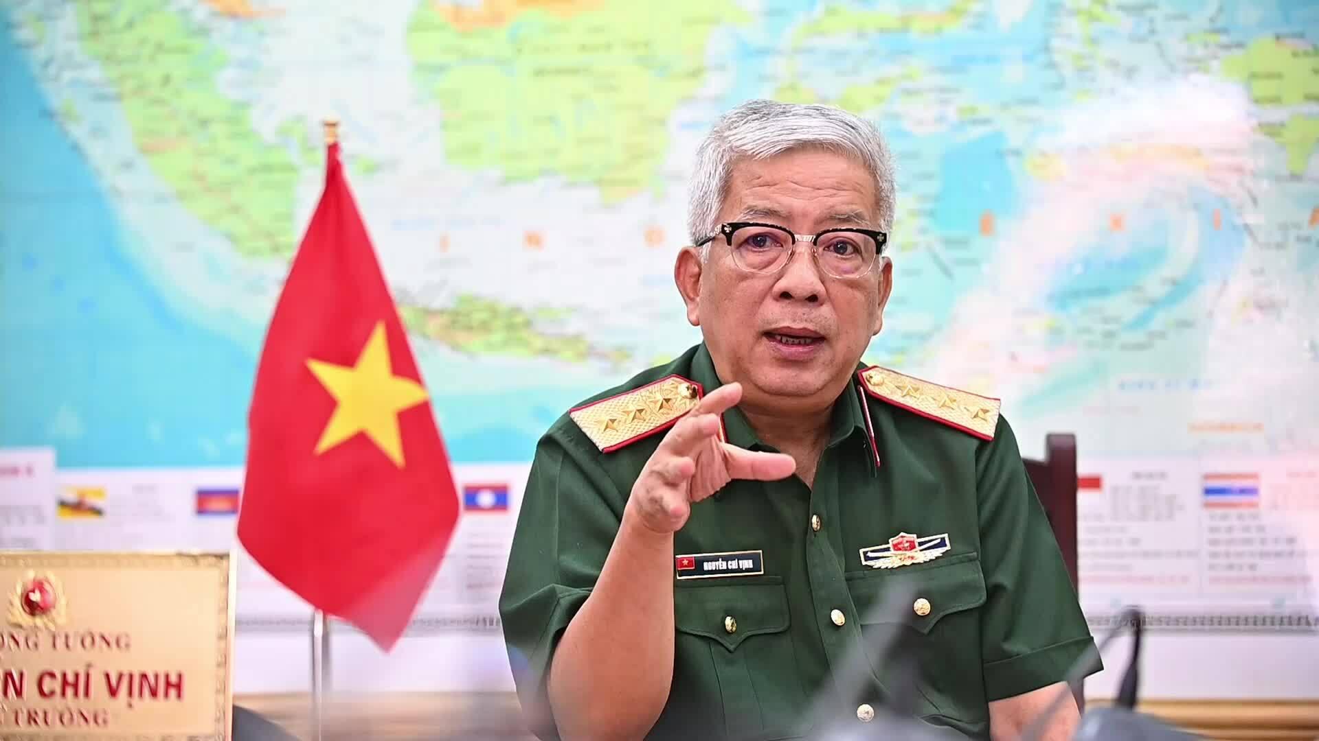 Tướng Vịnh: 'Không nước nào có thể buộc Việt Nam chọn bên'