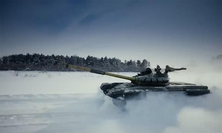 Bên trong tăng chủ lực T-72B3