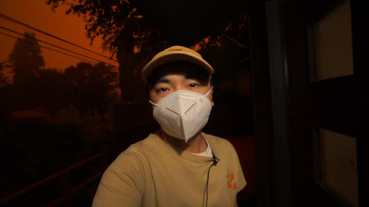 Người Việt ở California: 'Tro cháy rừng bay như tuyết'