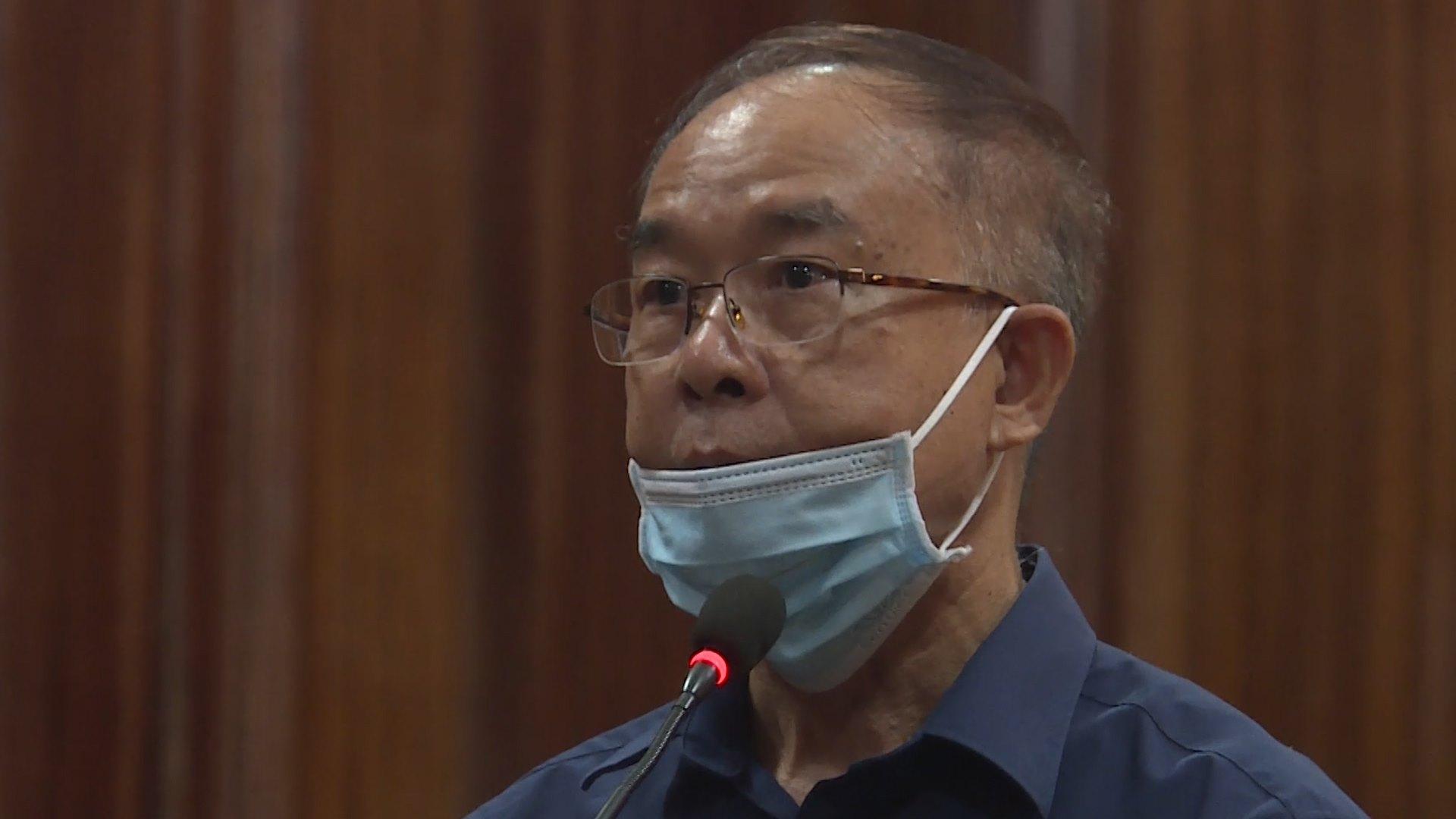 Cực Phó chủ tịch UBND TP HCM Nguyễn Thành Tài cùng đồng phạm hầu toà