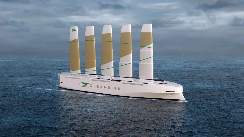Thiết kế 'siêu tàu buồm' giúp giảm 90% khí thải